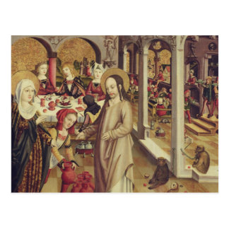 The Marriage at Cana, c.1500 Postcard