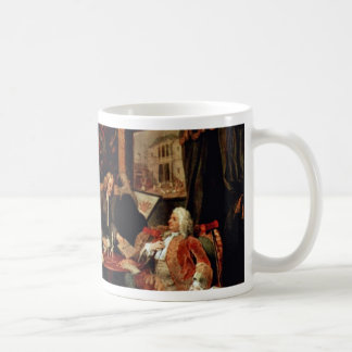 The Marriage Contract ' By Hogarth William Coffee Mug