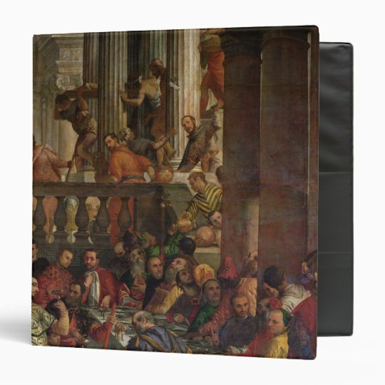The Marriage Feast at Cana 3 Ring Binder