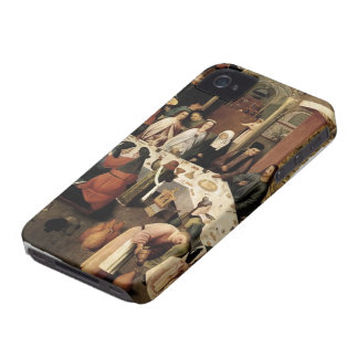 The Marriage Feast at Cana by Hieronymus Bosch Case-Mate iPhone 4 Cases