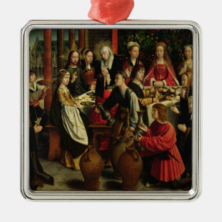 The Marriage Feast at Cana, c.1500-03 Metal Ornament