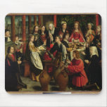 The Marriage Feast at Cana, c.1500-03 Mouse Pad