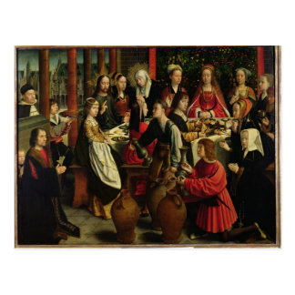 The Marriage Feast at Cana, c.1500-03 Postcard