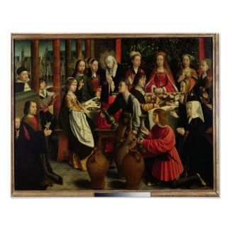 The Marriage Feast at Cana, c.1500-03 Poster