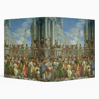 The Marriage Feast at Cana, c.1562 (oil on canvas) Vinyl Binder