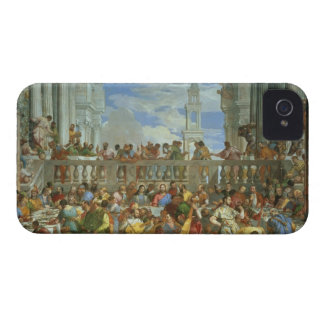 The Marriage Feast at Cana, c.1562 (oil on canvas) iPhone 4 Case