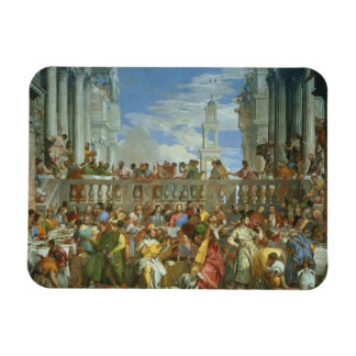 The Marriage Feast at Cana, c.1562 (oil on canvas) Magnet
