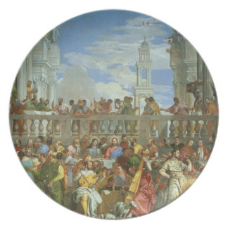 The Marriage Feast at Cana, c.1562 (oil on canvas) Plates