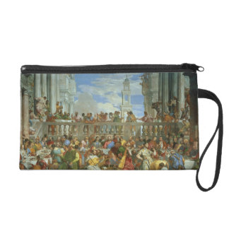 The Marriage Feast at Cana, c.1562 (oil on canvas) Wristlet Purse
