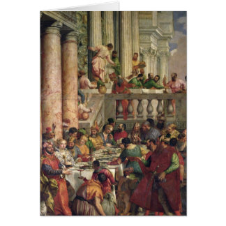 The Marriage Feast at Cana Greeting Card