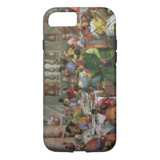 The Marriage Feast at Cana, detail of banqueting t iPhone 7 Case