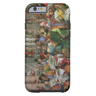 The Marriage Feast at Cana, detail of banqueting t Tough iPhone 6 Case