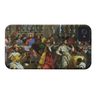 The Marriage Feast at Cana, detail of musicians an iPhone 4 Case-Mate Case