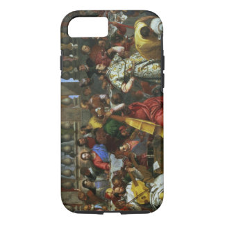 The Marriage Feast at Cana, detail of musicians an iPhone 7 Case