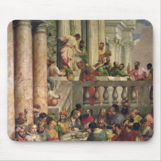 The Marriage Feast at Cana Mouse Pad