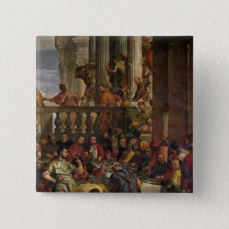 The Marriage Feast at Cana Pinback Button