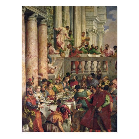 The Marriage Feast at Cana Postcard