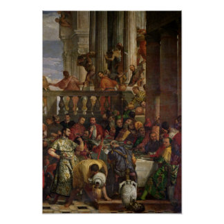 The Marriage Feast at Cana Poster