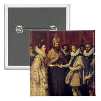 The Marriage of Catherine de Medici Pinback Button