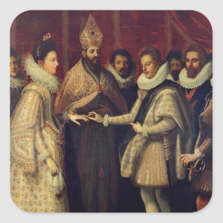 The Marriage of Catherine de Medici Stickers