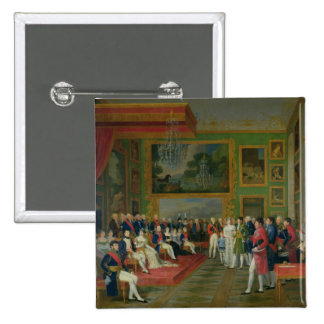 The Marriage of Eugene de Beauharnais 2 Inch Square Button