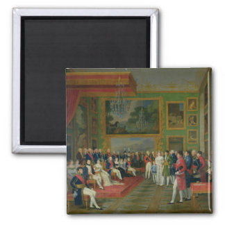 The Marriage of Eugene de Beauharnais 2 Inch Square Magnet