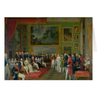 The Marriage of Eugene de Beauharnais Greeting Card