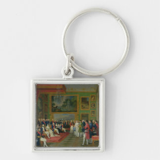 The Marriage of Eugene de Beauharnais Silver-Colored Square Keychain