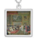 The Marriage of Eugene de Beauharnais Silver Plated Necklace