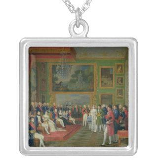 The Marriage of Eugene de Beauharnais Square Pendant Necklace