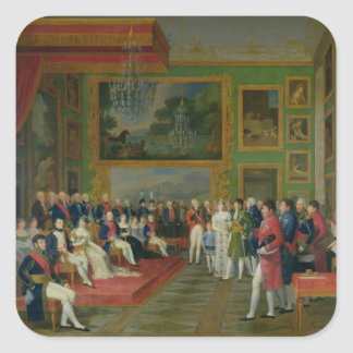 The Marriage of Eugene de Beauharnais Square Sticker