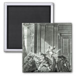 The Marriage of Figaro' 2 Inch Square Magnet