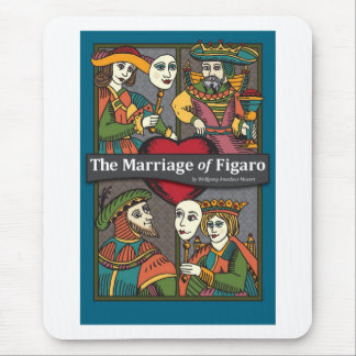 The Marriage of Figaro, Opera Mouse Pad