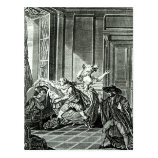 The Marriage of Figaro' Postcard