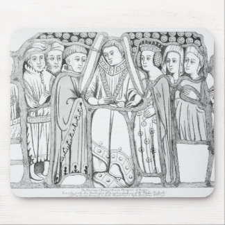 The Marriage of Henry VI and Margaret of Anjou Mouse Pad