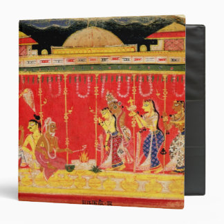 The Marriage of Krishna's Parents, from a disperse Vinyl Binders