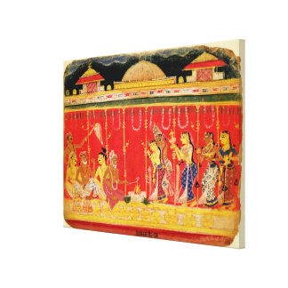 The Marriage of Krishna's Parents, from a disperse Canvas Prints