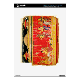 The Marriage of Krishna's Parents, from a disperse iPad 3 Decal