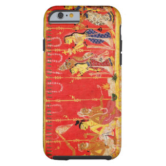 The Marriage of Krishna's Parents, from a disperse Tough iPhone 6 Case