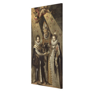 The Marriage of Louis XIII Canvas Print