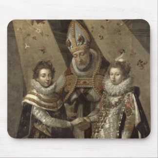 The Marriage of Louis XIII Mouse Pad