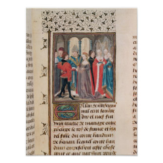 The Marriage of Philippe Auguste  King of France Poster