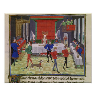 The Marriage of Renaud of Montauban and Clarisse Print