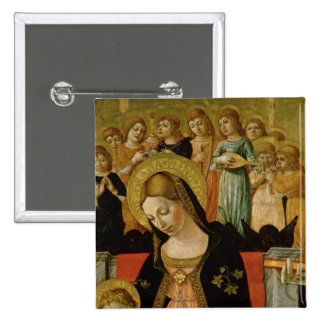 The Marriage of Saint Catherine of Siena Pinback Button