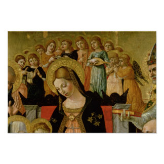 The Marriage of Saint Catherine of Siena Poster