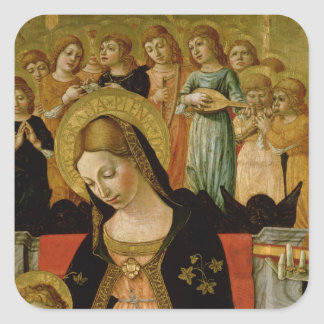 The Marriage of Saint Catherine of Siena Square Sticker
