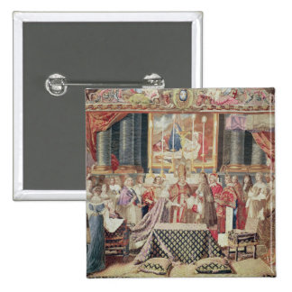 The Marriage of the King 2 Inch Square Button