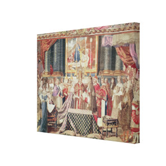 The Marriage of the King Canvas Print