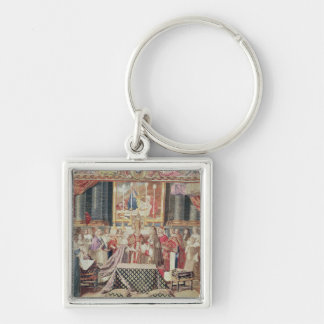 The Marriage of the King Keychain