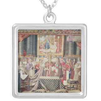 The Marriage of the King Silver Plated Necklace
